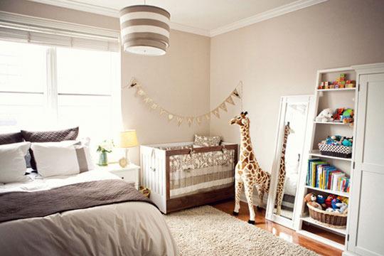 Decor Ideas: Master Bedroom with Nursery | C'est Maris on baby crib in bedroom, crib in our bedroom, nursery in guest bedroom, nursery sets and collections,