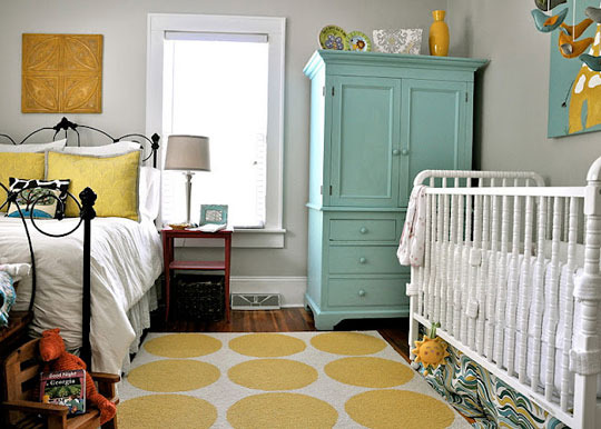 Decor ideas master bedroom with nursery c 39 est maris - Toddler bedroom ideas for small rooms ...